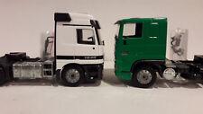 solozugmaschine 1/50 LKW. Daf y Mercedes Actros Joal..... no WSI- tekno