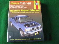 Haynes Nissan Pick-ups Owners Workshop Manual - 1996 to 2001 (USA Edition)