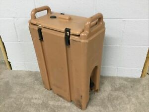 Insulated Cambro 500 LCD Carrier Box Cooler Warmer BEVERAGE DISPENSER