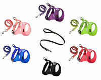 Gooby Freedom II Small Breed Dog - Puppy Harness or Matching Leash  XS S M L XL