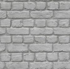 RASCH Papier Tapete KidsClub 226720 hell grau Mauer Steine Mauerwerk Steinwand