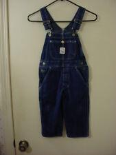 POINTER Brand Painter 100% Cotton Blue Jean Bib Overalls Boy's Size 3 VGC !