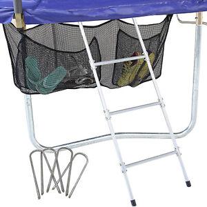 Skywalker Trampolines 3 Rung Ladder and Shoe Holder Trampoline Accessory Kit