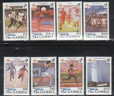 Gambia 1024-31 Summer Olympic Sports Mint NH
