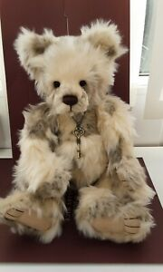 Charlie Bears  MARSHMELLOW WITH TAGS,RETIRED/SOLD OUT,2016, 17.5 INCHES TALL