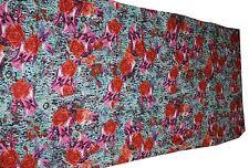 5 YARDS cotton indian Fabric Stoff tela tissu retro ethnic DRESS MATERIAL boho