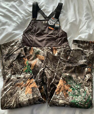 Under Armour Brow Tine Hunting Bib 1316697 991 Realtree Edge Women's Size Small