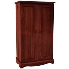 Richmond Media 495 CD 210 DVD Storage Cabinet / Cupboard - Mahogany MS0496