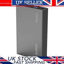 "ORICO Aluminum 3.5"" Inch USB 3.0 SATA III External HDD/SSD Hard Drive Caddy Case"