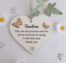 Teachers Like You are Precious and Few Gift  Plaque