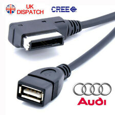 Music MDI MMI AMI to USB Cable Data Sync Charging Adapter AUX Lead For AUDI VW