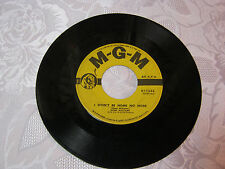 Hank Williams  I wont be home no more, My love for you   MGM 45 record