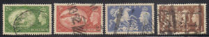 Great Britain  1951  Sc #286-89  Wmk.259  Used    Cv.$24  (2-7788)