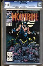 Wolverine #1 CGC 9.8 NM/MT WHITE Pages Universal CGC #0156094029
