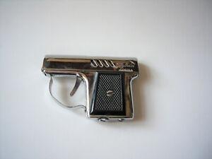 Schön alt mittelgroß CORONA Fly-Pistol Pistolenfeuerzeug Benzinfeuerzeug selten