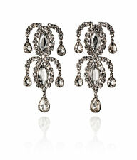 H&M ANNA DELLO RUSSO for H&M Diamond Family RHINESTONE earrings dragon snake