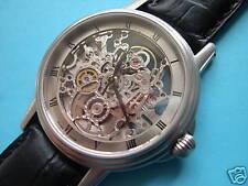 Skeleton Automatic Watch Swiss Eta Movement Sapphire Glass Emka-Geneve
