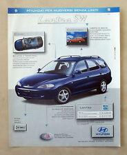 C086-Advertising Pubblicità-1998- HYUNDAI LANTRA SW
