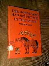 The Horse Who Had His Picture In The Paper McGinley 1st 1951 HC