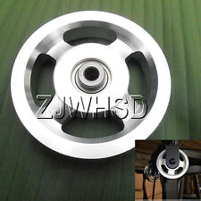 Universal 114mm Aluminum Bearing Pulley Wheel for Gym Fitness Exercise Equipment