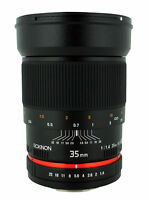 Rokinon 35mm F1.4 Wide Angle Lens for Canon EF Mount