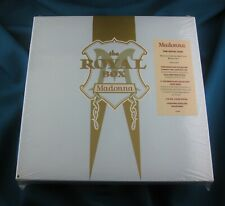 MADONNA SEALED THE ROYAL BOX SATIN CD BOX SET EDITION - Promo Hype Sticker Punch