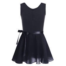 Girls Toddler Ballerina Tutu Dress Ballet Dance Wear Leotard Gym Skirt Costume