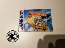 Pinocchio - gameboy - nintendo - notice