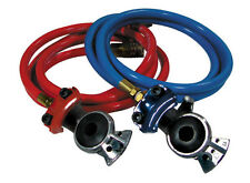 8Ft. Red and Blue Glad Hand w/ Hoses Set