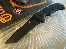 "Gerber USA Edict Tanto Lockback Pocket Knife 31-002761 154CM Steel 8 1/3"" Open"