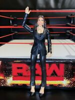 Stephanie McMahon - Basic Series - RARE WWE Mattel Wrestling Figure