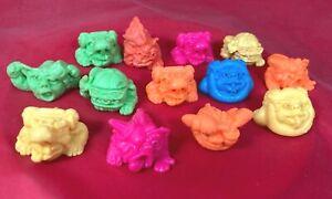 Mini Boglins - Color Damaged - Thirteen (13) Sculpt Lot - Ships from US!