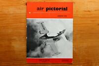 Vtg Original Air Pictorial Magazine 1959 January How to Win Issue