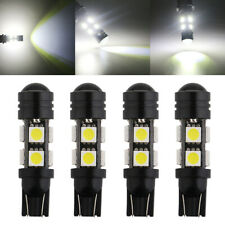4Pcs Super Bright T10 1.5W 5050 8SMD 194 8-LED White Wedge Light Lamp Bulb 12V