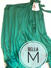 LULAROE BELLA WRAP SKIRT M Medium Solid Green