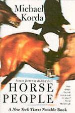 NEW BOOK Horse People - Michael Korda (Paperback)