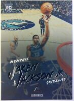 2018-19 Panini Chronicles Luminance Jaren Jackson Rookie RC #144, Grizzlies