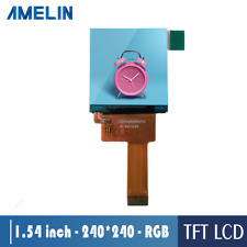 1.54 inch tft 240*240 lcd display with RGB interface for square smart watch