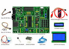 PIC Development Board easyPIC-40 Kit + KIT3,LCD1602,LCD12864,DS18B20,Step Motor