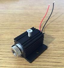 Adjusted Red Diode Lasers 650nm 5mw Dot/Line/Cross LED Module w/ Heatsink