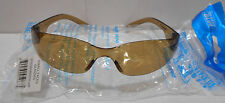 Lot of 12  Rugged Blue Safety Glasses Sunglasses Kids Small Faces  Amber Tinted