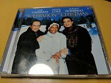 A Celebration of Christmas CD Jose Carreras Natalie Cole Placido Domingo