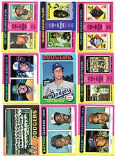 1975 Topps Baseball Lot Finish Your Set Pick 35 Cards EX-MT to NM Revised