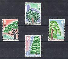 Gran Bretaña Flora Arboles serie del año 1990 (CR-13)