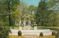 Postcard Home Of Tomas Watson Thomason Georgia