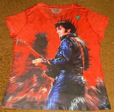 ELVIS PRESLEY 68 COMEBACK SPECIAL T-SHIRT  DOUBLE SIDED  SIZE LARGE BRAND NEW!