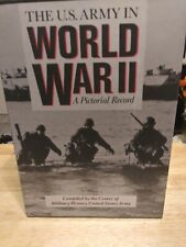 The US Army in World War II A Pictorial Record 3 volume set in slip case