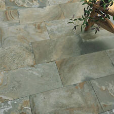 Cut Sample (15 x 30cm): Industrial Slate Effect Wall & Floor Tiles 30 x 60cm