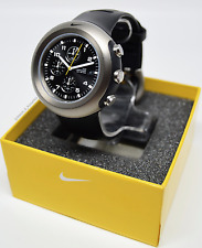 VERY RARE: Nike Lance Race Chrono Watch WA0044-013 *Brand New In Box*
