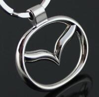 Llavero Mazda, logotipo, emblema, buena calidad, Keyring, Keychain